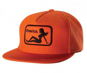 Emerica Cap Cap INTERSTATE SNAPBACK Orange