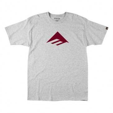 Emerica Youth riangle 7.0 T-Shirt Basic grey red
