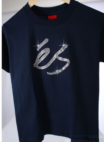 ES Youth T-Shirt Bling Navy