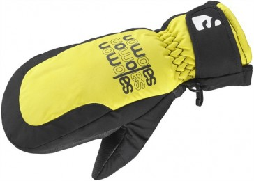 Salomon Flying Mitten kids black/yellow