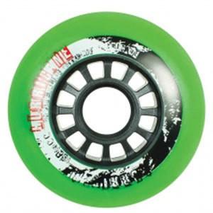Powerslide Hurricane F2 Wheels 80mm four-pack green