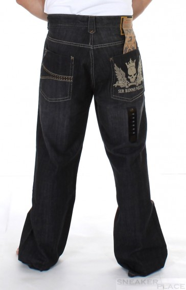 Sir Benni MilesBlack Denim Pant