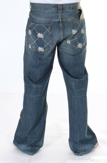Sir Benni Miles Pant Denim  Dark Bleach