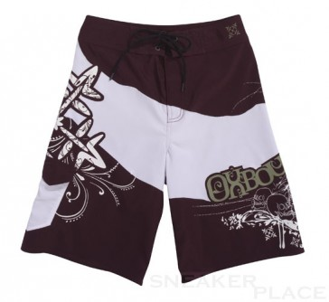 Oxbow Jon  Boardshort Junior white bordeaux