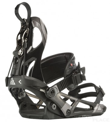 K2 Cinch CTC Black Snowboard Bindings