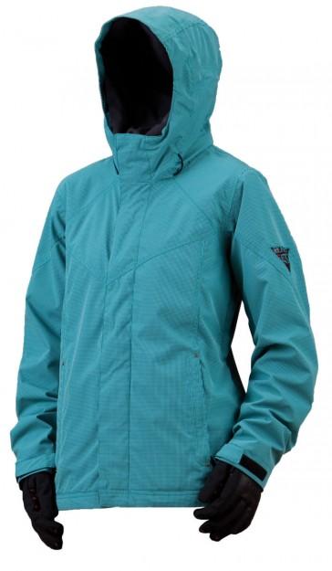 Bonfire Kiso Jacket aquamarine/black women