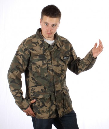 Reel Army Jacke Camouflage