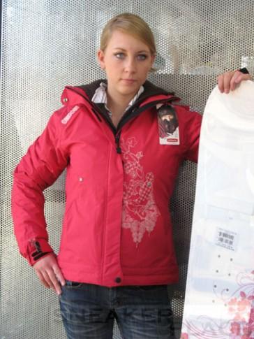 Oxbow Ladies Snowboard Jacket Rebyle Pink Lady