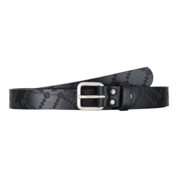 Record AUKLAND DLX Leather Belt black