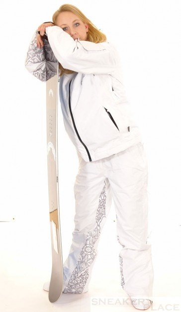 Oxbow Snowboard trousers white womens Goretex Rio