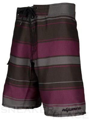 Ripzone Rugby Stripe trunks black/purple