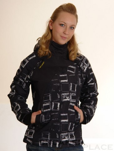 Ragwear Winterjacket Blonde Women Black / White