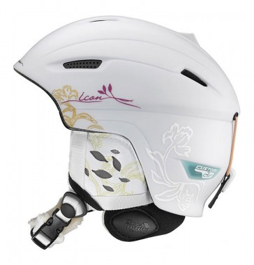Salomon Icon Origins Custom Air snowboard helmet women white