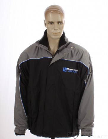 Schanner Pro Team Winter Jacket Black Gray