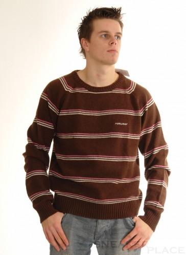 Ragwear wool sweater Shady Brown
