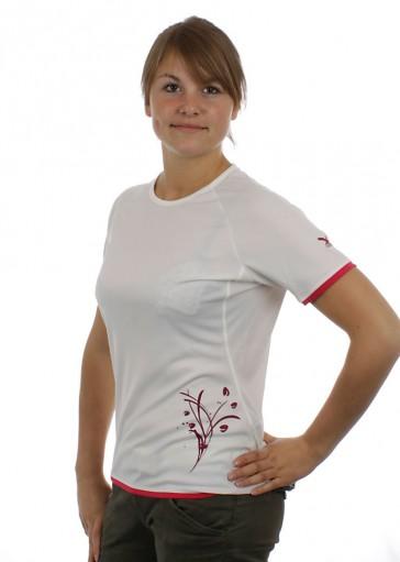 Salewa Sirene Dry Women Shirt white