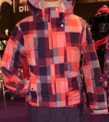Ripzone Solo Basic Jacket red