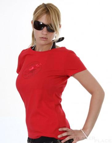 Converse Monochrom T-Shirt Dark Red