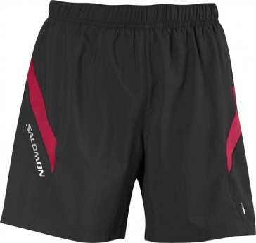 Salomon Trail III Shorts men black/red