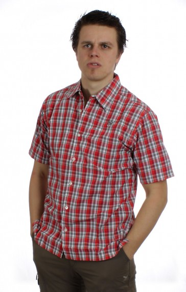 Salewa Triumph Dry Men Shirt red