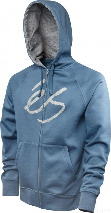 és Skript Fill Blue Zip Up Hood