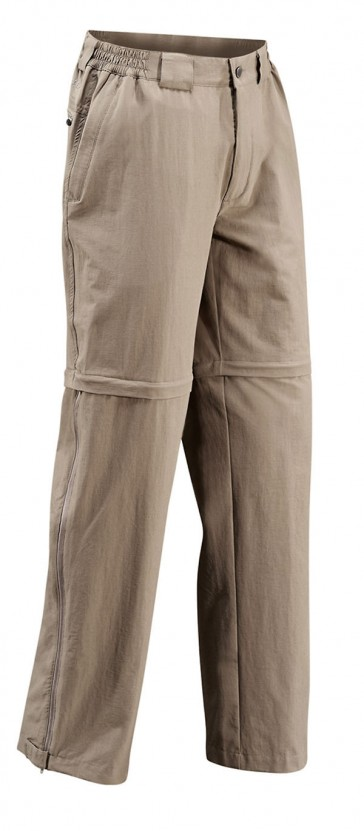 Vaude men Farley Stretch T-Zip Pants muddy