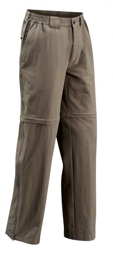 VAUDE Men Farley Stretch T-Zip Pants lightbrown