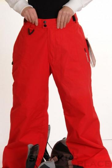 Zembla Sean Snowboard Pants Red