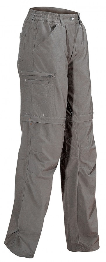 Vaude Farley Zo Pants III Women lightbrown