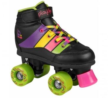 Playlife Groove black roller skates for kids