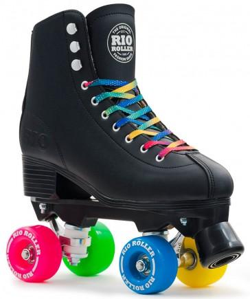 Rio Roller figure roller skates black