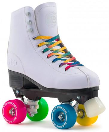 Rio Roller figure roller skates white