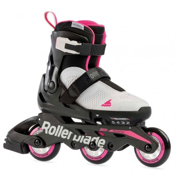 Rollerblade Microblade Free 3WD gray / pink
