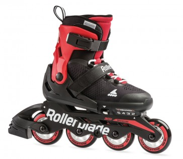 Rollerblade Microblade black red