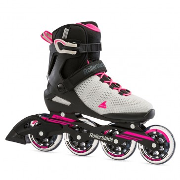 Rollerblade Sirio 90 women gray / pink