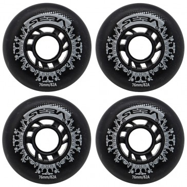 Seba Street Kings Wheels 76mm / 82a 4-Pack