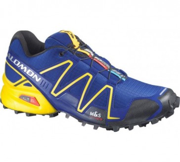 Salomon Speedcross 3 blau/gelb