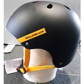 Rollerblade Downtown helmet black yellow