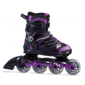 Fila Wizy Alu girls inline skates black purple