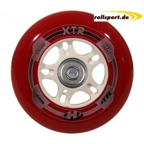 Hyper XTR 100mm Rollen with bearings and spacers