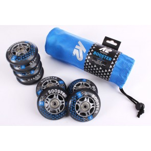 K2 76mm wheels set with bearings and spacer 8-pack