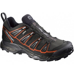 Salomon X Ultra Gtx shoes men grey black orange