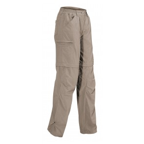 Vaude Farley Zo Pants III women muddy