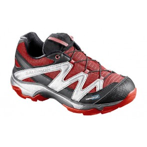 Salomon Xt Wings Wp kids shoes dark red