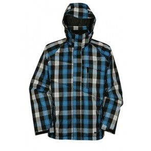 Ripzone Paralyzer jacket blue/black/white