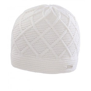 Capo white wool cap