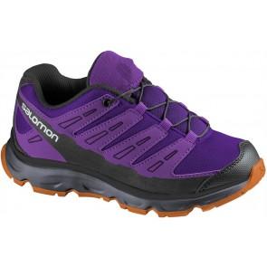 kids shoes from Salomon Synapse Junior purple