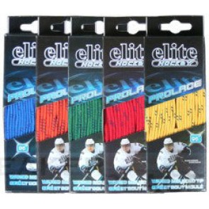 Icehockey waxed laces green or Orange