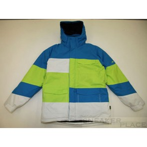 Ripzone Thermo Jacket Men Blue/Lime/White