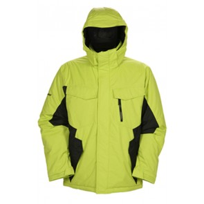 Snowboardjacket Ripzone Blackout Lime/Black